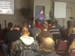 Dave Eastman teaching at worship leaders' retreat